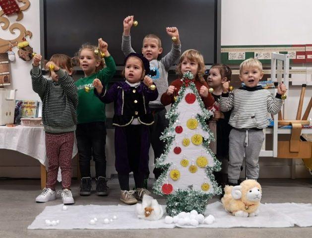 Самые юные ученики школы к встрече Нового года готовы!
